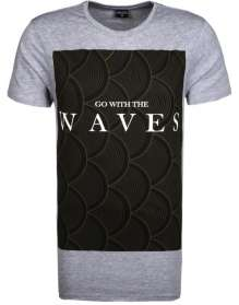 T-Shirt Go with the waves