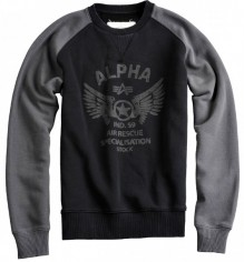 Alpha Industries pulover Rescue Crew Neck