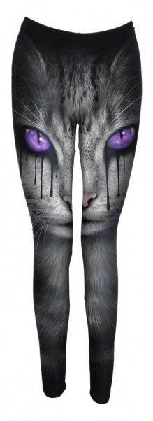 Legice CAT'S TEARS - Allover Comfy Fit Leggings