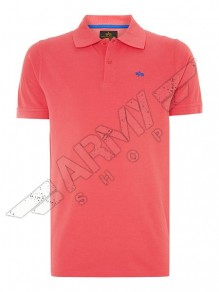 Alpha Ind. Classic Polo - dark pink
