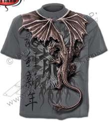 T-shirt ORIENTAL DRAGON WRAP